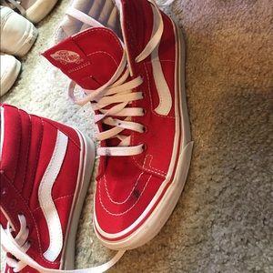 Vans Shoes - ❤️RED SK8 HIGH VANS❤️